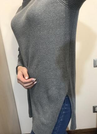 Стильная кофта ,свитер с разрезами2