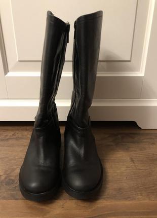 Zara сапоги осенние 26 размер