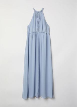 Очень красивое длинное платье в пол большого размера 3хl/30/56 от h&m