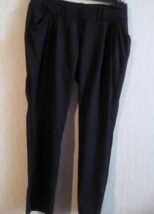 Теплые стильные брюки-vangeliza--12р