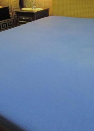 Простынь трикотажная на резинке 160 х 200 см (германия)