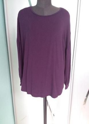 Лонгслив (футболка с длинным рукавом) большого размера