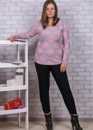 Женские брюки на меху с карманчиками 52-56 размер