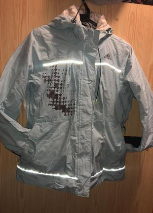 Лыжная зимняя куртка adidas