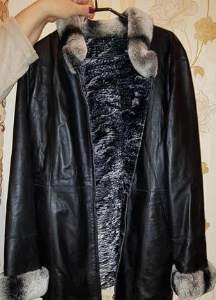 Продам новую, женскую, кожаную куртку на меху