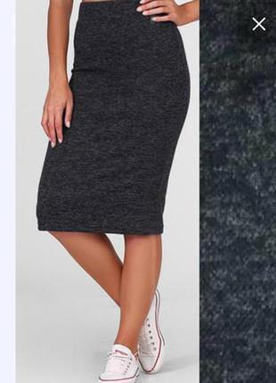 Новая теплая юбка цвета графит с ангоры софт, разные размеры и цвета.