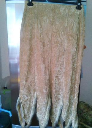 Теплая юбка на флисе-л-48р турция