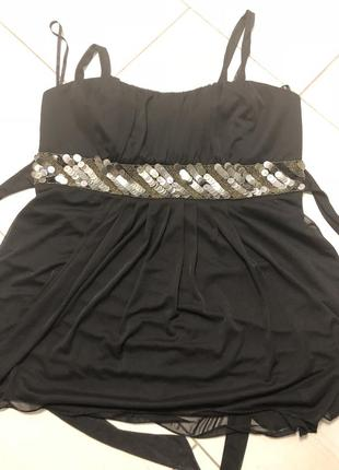 Блуза большого размера нарядная р 22