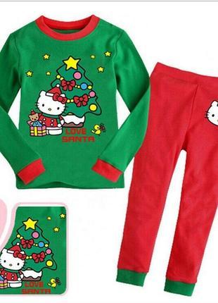 Пижама новогодняя для девочкм