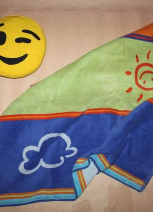 Большое полотенце махровое