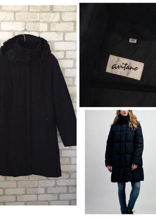 Куртка чёрная демисезон матовая , дутая , пуховик