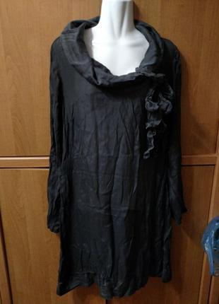 Платье италия шелк вискоза