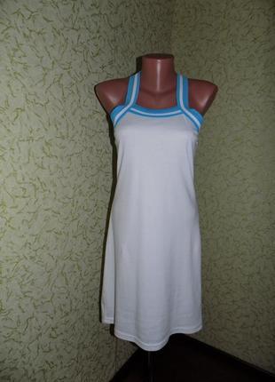 Спортивное платье 42р