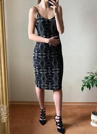 Платье блестящее, от new look