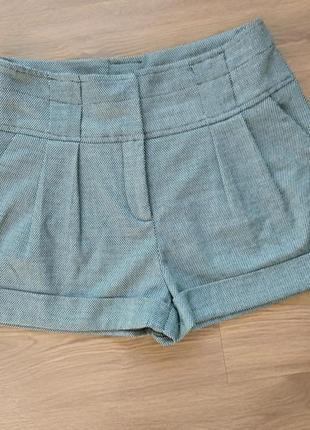 Стильные теплые шорты naf-naf