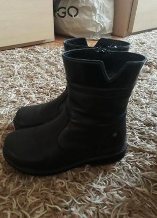 Кожаные ботинки lasocki 30р.