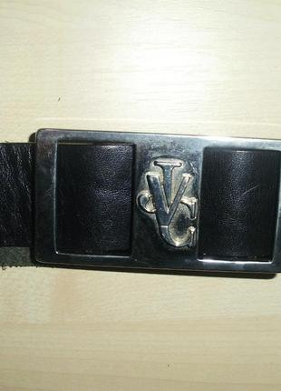 Versace jeans couture  (italy)   кожаный ремень