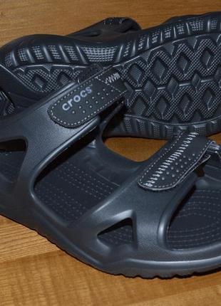 Мужские сандалии босоножки crocs swiftwater m9, m10, м11. оригинал.