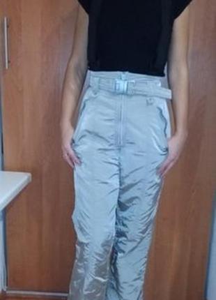 Зимние лыжные штаны, полукомбинезон с-хс