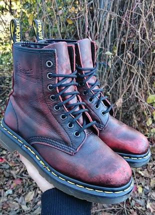Ботинки кожаные dr martens оригинал размер 36