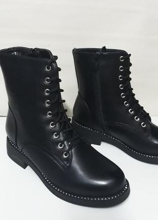 Акція! жіночі зимові напівчобітки (полусапожки, ботинки) розмір 36, 37.2