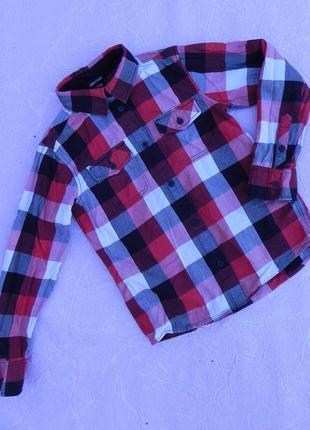 Рубашка h&m 8-9 лет 134см