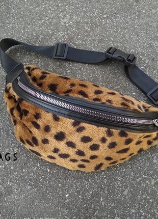 Бананка леопардовая сумка
