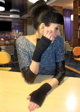 Митенки - перчатки без пальцев - комфорт и стиль на каждый день