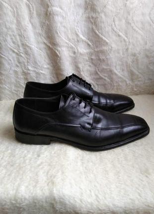 Шкіряні чоловічі дизайнерські туфлі lancio 43,5-44 р