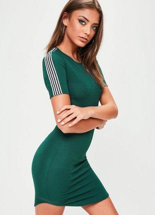 Ліквідація товару до 10 грудня 2018 !!!  стильное платье с полосками missguided