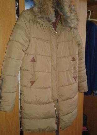 Курточка пальто зима до -10