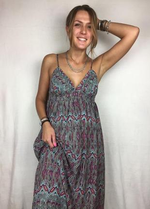 Платье в пол / длинный сарафан