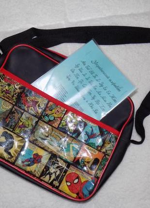 Крутая подростковая сумка marvel