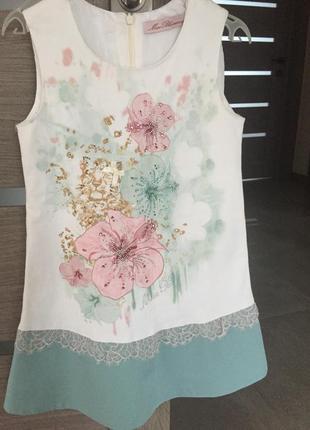 Blumarine- svarovski- красивое, нарядное платье
