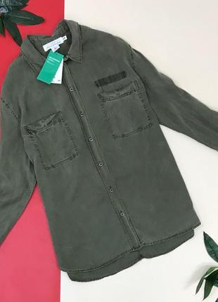 Трендовая рубашка h&m  bl1845051  h&m