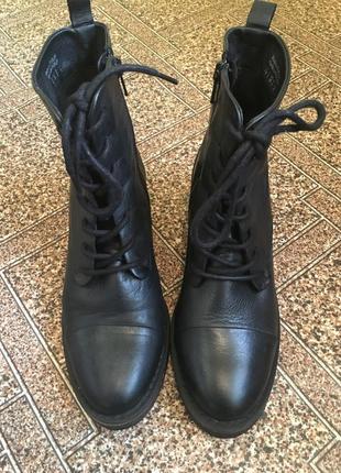 Кожанные ботинки aldo р 38
