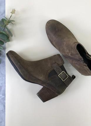 Кожаные ботинки clarks  sh1845052  clarks
