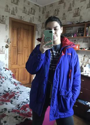Курточка куртка зимняя, демисезонная парка columbia