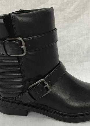 Кожаные ботинки clark's  35,5 36