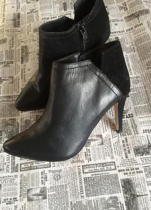 Кожаные ботинки esmara 39,40 р