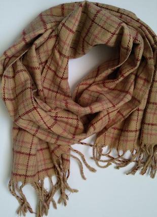 Шарф,  шарфик,  клетчатый шарф,  тёплый шарф