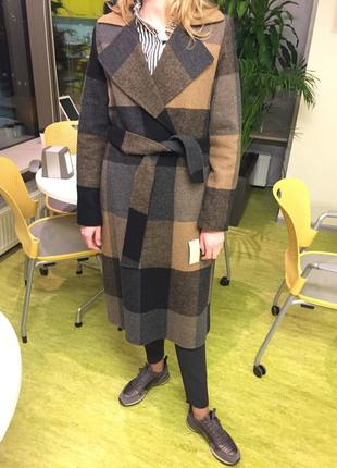 Новое пальто michael kors, размер m, 53% шерсти