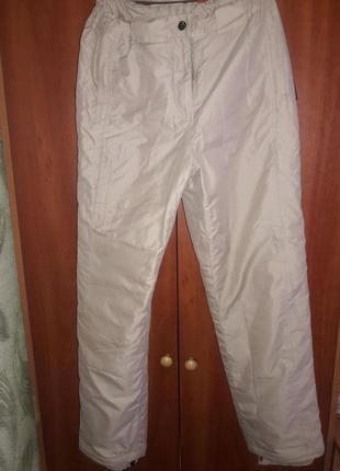 Лыжные спортивные теплые штаны