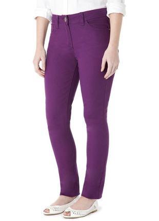 Фиолетовые джинсы george