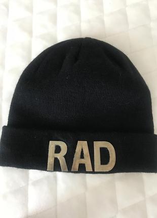 Чёрная шапка asos