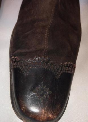 Необычные, стильные сапожки от эксклюзивного бренда marithe francois girbaud