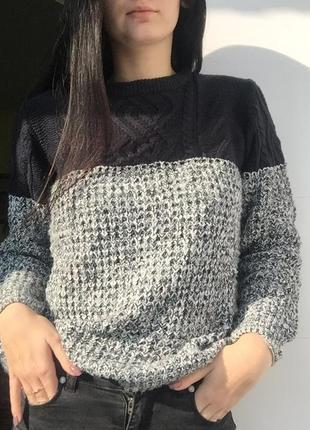 Тёплый свитер rebel