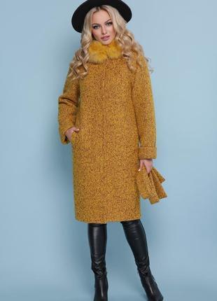 Новинка сезона! шикарное женское зимнее пальто размеры : 42,44,52,54,56