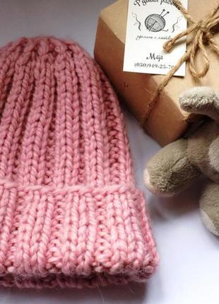 Теплая шапка из толстой шапки