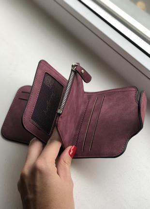 Кошелек baellerry forever mini exclusive color burgundy2 фото